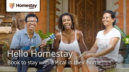 Stay at a local when you travel with Homestay