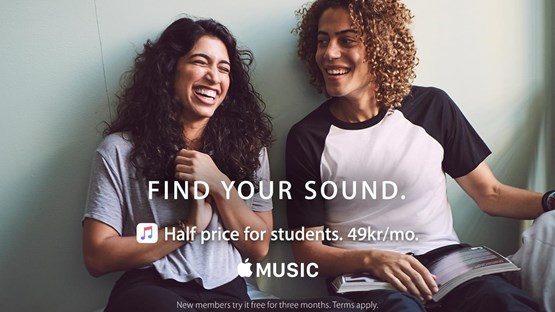 Student discount at Apple Music