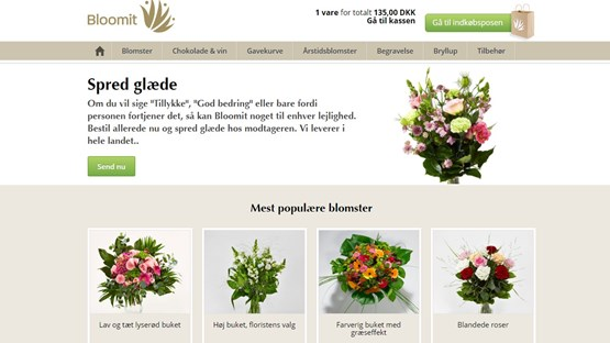 Bloomit.dk flowers delivery