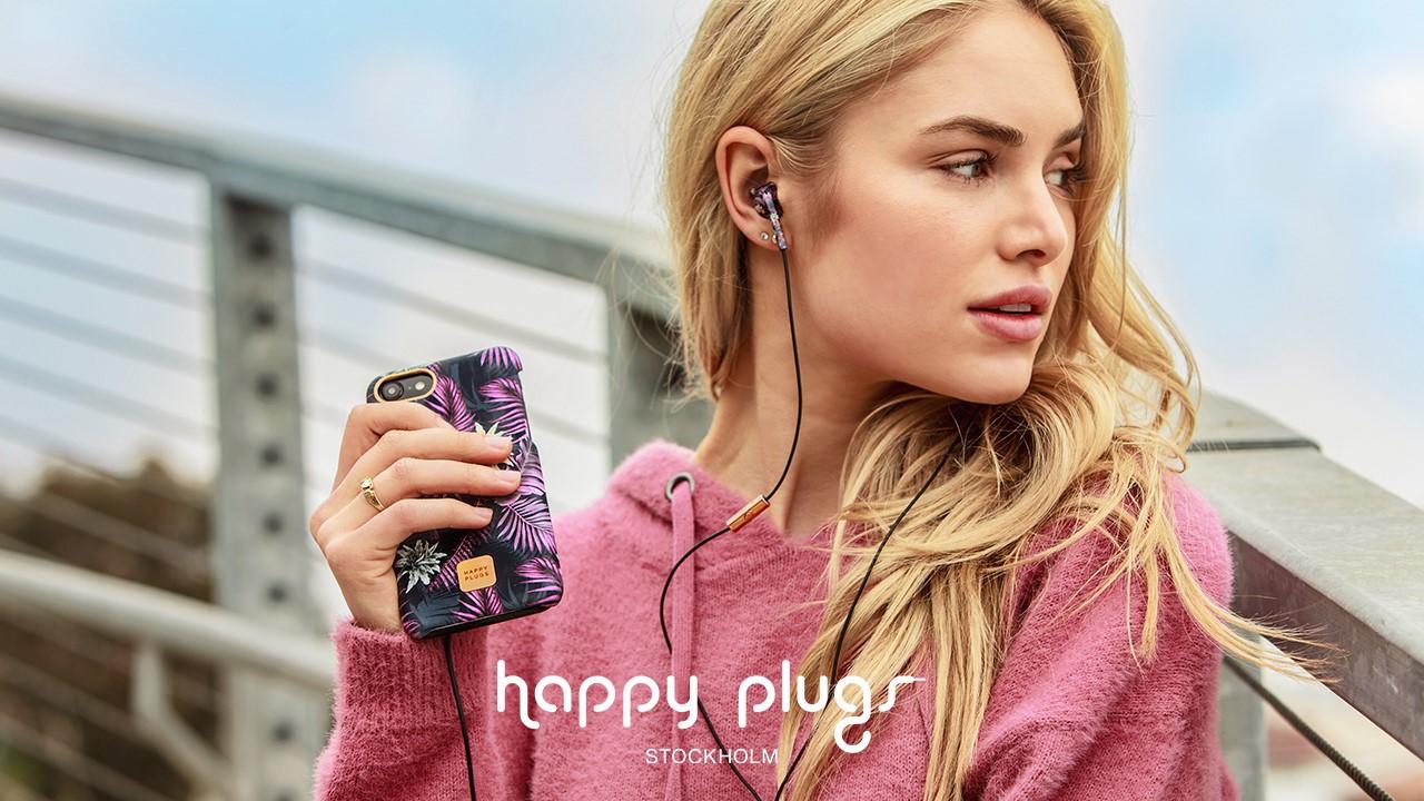 Studierabat på hovedtelefoner fra Happy Plugs - ISIC