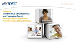 Student discount on TOEIC® Official Learning and Preparation Course