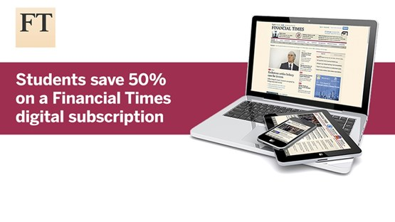 Financial Times - 50% discount