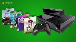 Special price for XBOX One + Kinect and 4 FREE Games